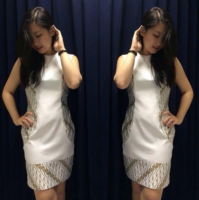 Elegan Batik Dress by Momi