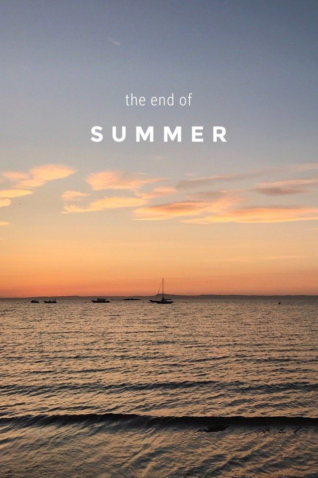 'the end of summer' - photos from July to September, on @stellerstories
