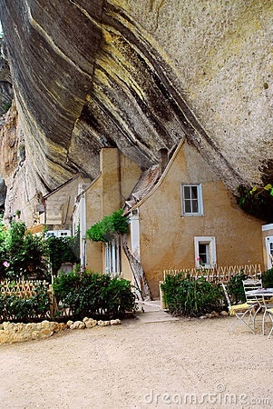 Dordogne. We saw these types of homes while cycling in the region.