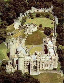 Arundel Castle in West Sussex, UK has been the family home of the Dukes of Norfolk for over 1,000 years, remarkably intact castle
