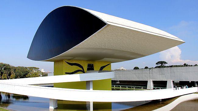 MON Museu Oscar Niemeyer Museu do Olho - Curitiba
