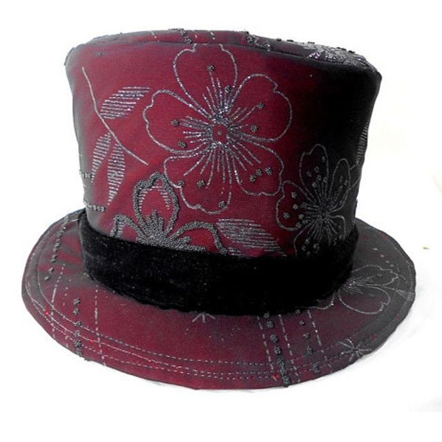 Steampunk Tapestry Top Hat