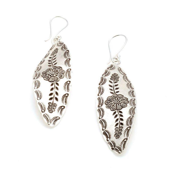 Exclusivos pendientes #boho style en tendencia, de plata de 1ª Ley. Con estilo pero muy finos para cualquier conjunto.