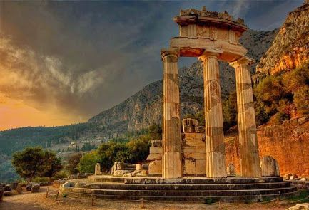 The Archaeological Site of Ancient Delphi (Δελφοί) - Temple of Apollo at Delphi - Greece.Συλλογές - Google+