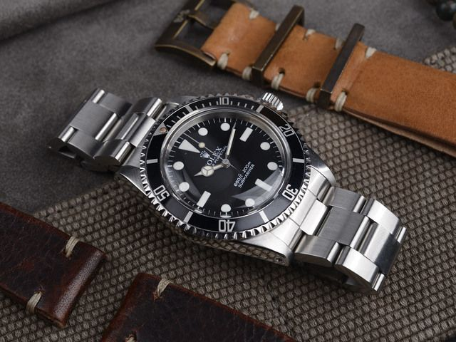 Curated Rolex 5513 Maxi Mk1 Submariner for sale (35557)
