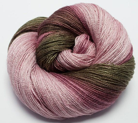 Gradient S.Wash BFL / Silk Yarn, Lace Weight ,800 m