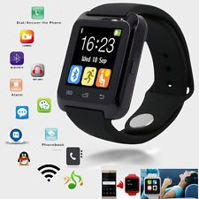 U80 Pulsera Smartwatch Podómetro Bluetooth Para IOS iPhone Android | eBay