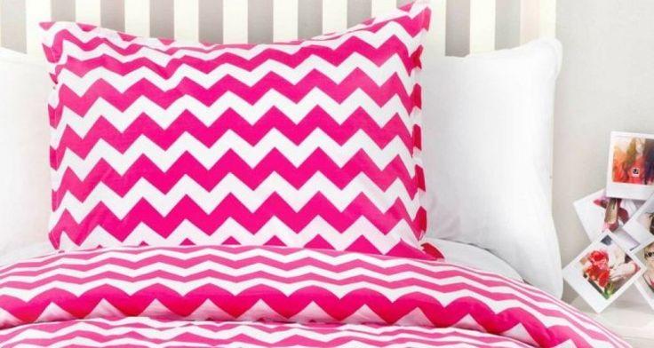 How Inspiring Awesome Design Ideas Pink Dorm Bedding
