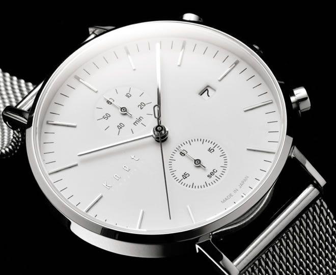 日本製ムーブメントやサファイアガラス等を採用したプレミアムな腕時計 - Knot (ノット)
