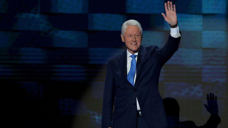 Bill Clinton's DNC Speech Was a Saxaphonic Love Song