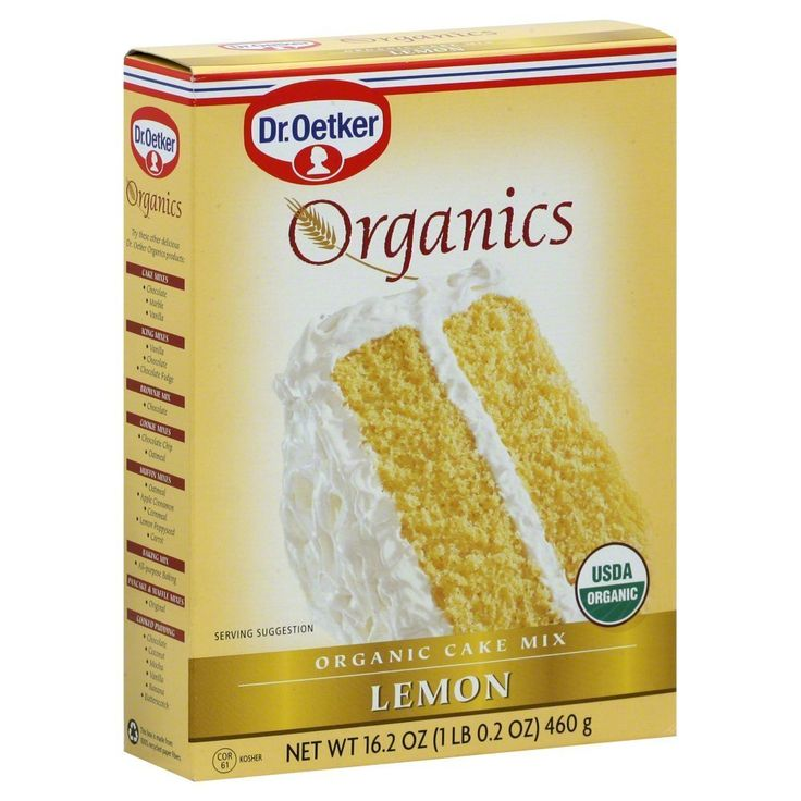Dr. Oetker: Organics Lemon Cake Mix (1 X 16.2 Oz) ** Click image for more details.