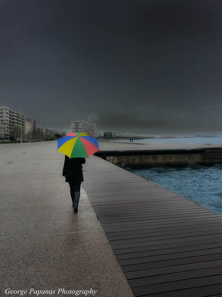 Βόλτα στη βροχή....Θεσσαλονίκη, Thessaloniki