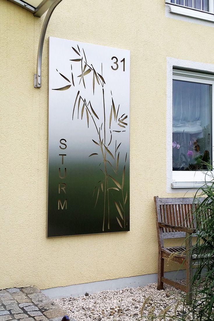 Wandbild Edelstahl Sichtschutzwande Wand Metallkunst Skulptur