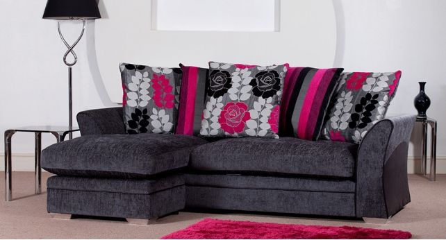 CoCo Contemporary Fabric Sofa Scatter Standard Back Or