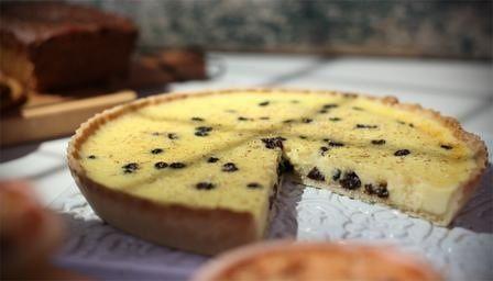 Curd tart, yummy
