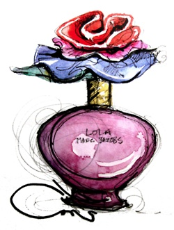 Lola - Marc by Marc Jacobs #art #illustration #drawing #perfume