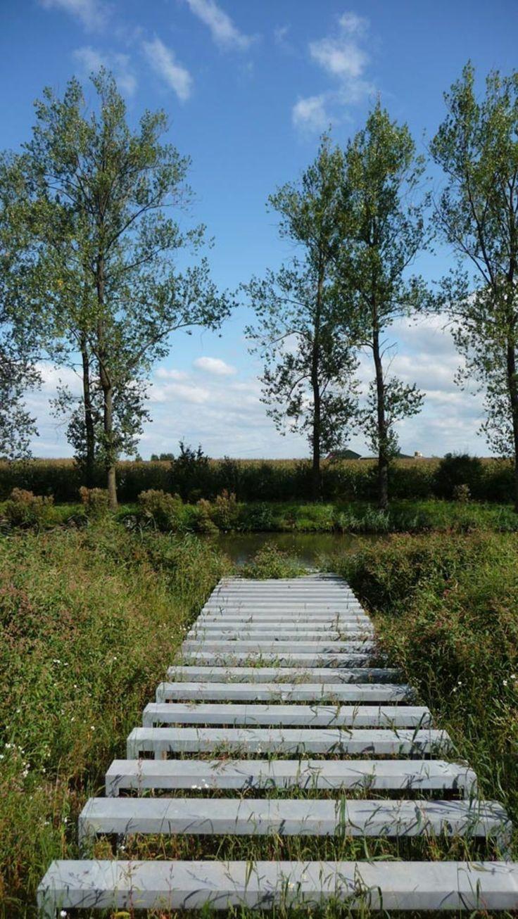 okra landschapsarchitecten /  neue hollandse waterlinie, fort honswijk