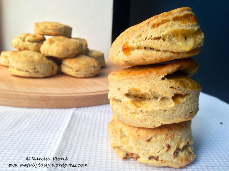 Savory scones. Jamie Oliver recipe.