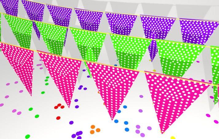 polka, una decoración muy sencilla, pero a la vez muy elegante ..!