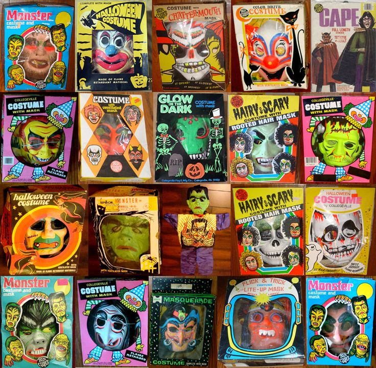 Awesome collection of costumes in their original boxes.