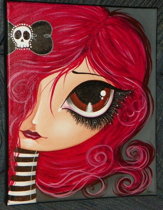 acrylics on canvas - Megan K. Suarez