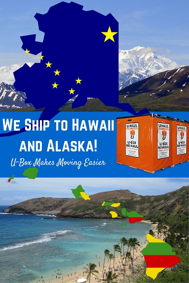 U-Box is here to help! Rent a portable moving and storage container and we will ship it to Hawaii or Alaska for you! Move without fear as U-Box moving containers is the best route for moving your belongings with you. U-Box portable moving containers are the most affordable way to move and ship your belongings to Hawaii or Alaska. | U-Box Moving Container