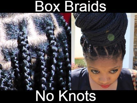 Ever wanted to do box braids but hated the knots. This technique shows you how to do box braids without the knots
