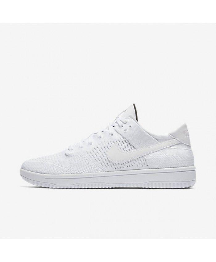 8e4825fae29 Nike Dunk Low Flyknit White Black White 917746-101