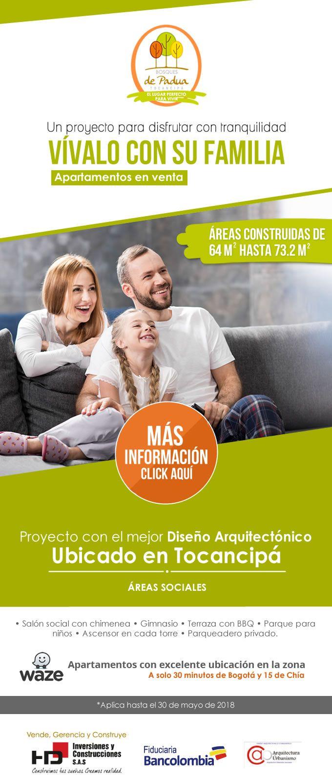 #NOVOCLICK esta con #BosquesDePadua #Apartamentos #Tocancipá