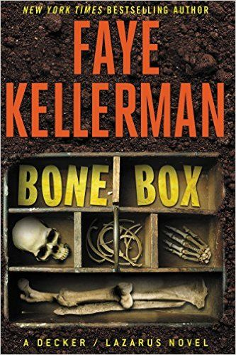 Some intense mysteries and thriller books to read, including Bone Box by Faye Kellerman.