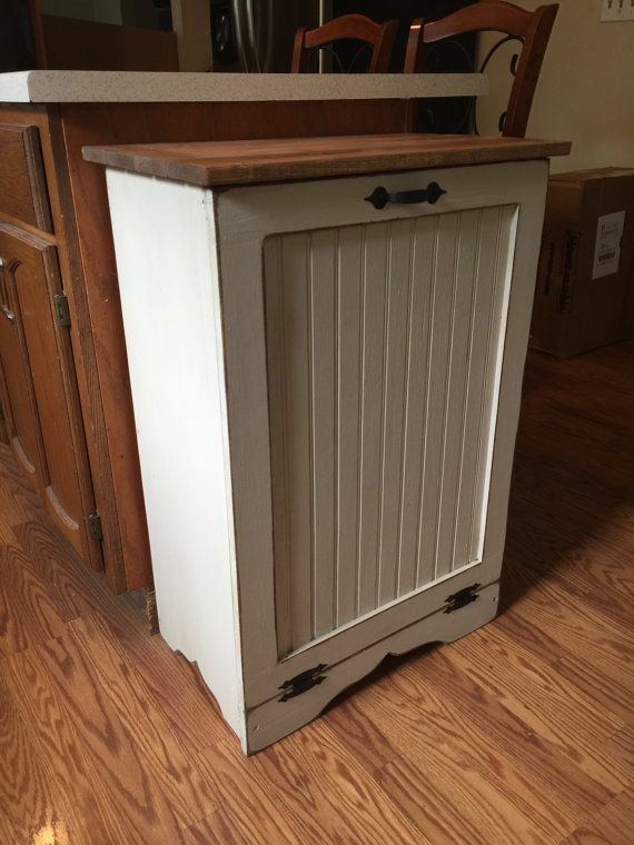How To Convert Kitchen Cabinet To Hold Garbage Cans