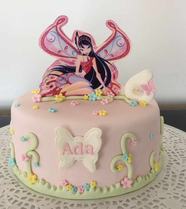 Cake Design Winx : 17 Best images about Winks Birthday Party on Pinterest ...