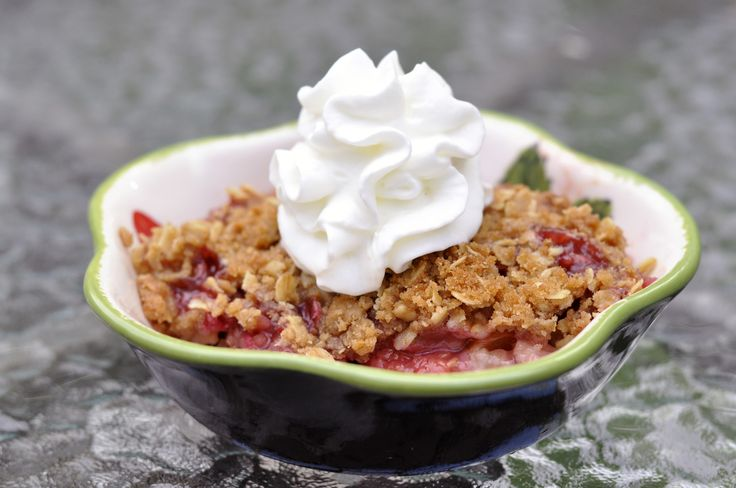 Raspberry Peach Crisp - JSOnline