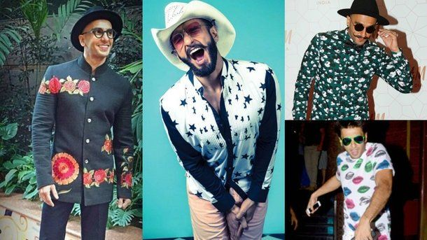 Whenever Ranveer Singh makes a public appearance, he makes everyone drop their jaw, and why not his sense of styling is wacky and unconventional.