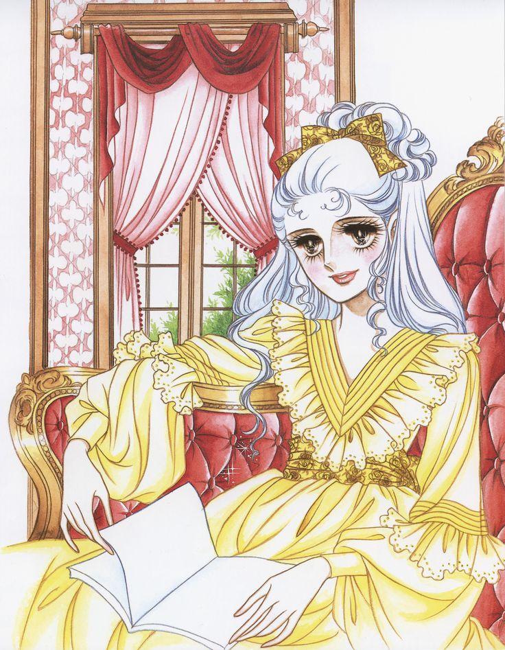"""Art from """"Oniisama E..."""" series by manga artist Riyoko Ikeda."""