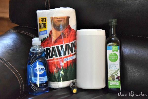 Make your own leather cleaning and conditioning wipes to clean leather sofas, car seats and more for pennies!