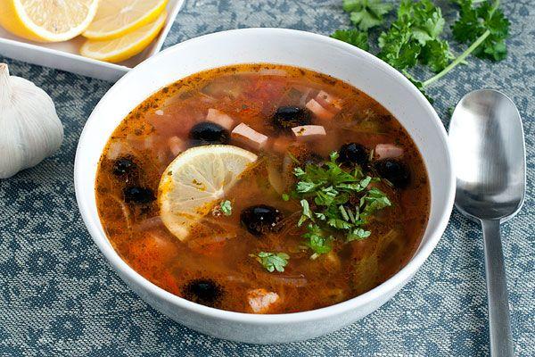 Рецепт солянки мясной с пошаговыми фото, рецепт супа солянка. Foodclub