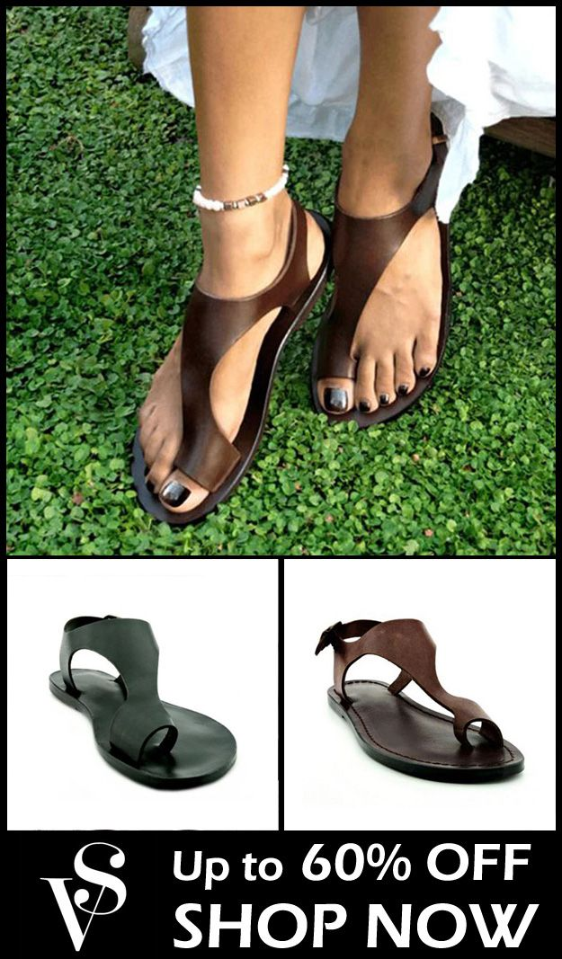 fc75e8f3fef05 Daily Casual Slip-On Holiday Sandals in 2019 | Sandals | Sandals ...