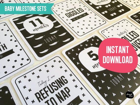 JALONS MEGA PACK  lot de 40  cartes  par HannahDeanDesigns sur Etsy