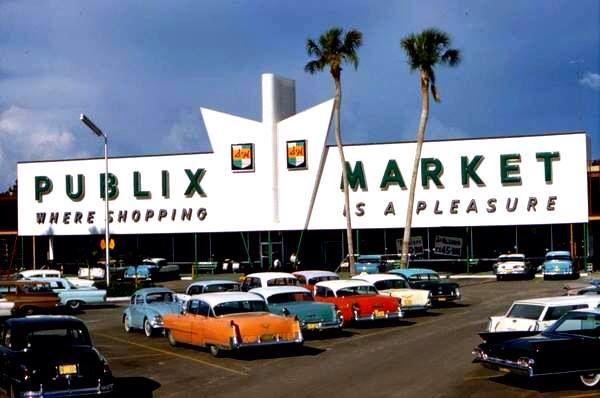 Jacksonville Car Dealerships >> Old Miami Publix   Old Miami   Pinterest   Miami