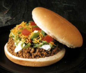 Taco Burger - Taco Tico..we loved these growing up..wish this place was still open in TN!