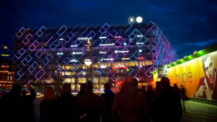 MAI   Media Architecture Institute: Media Facades, Mediatectures, LEDs, Architecture