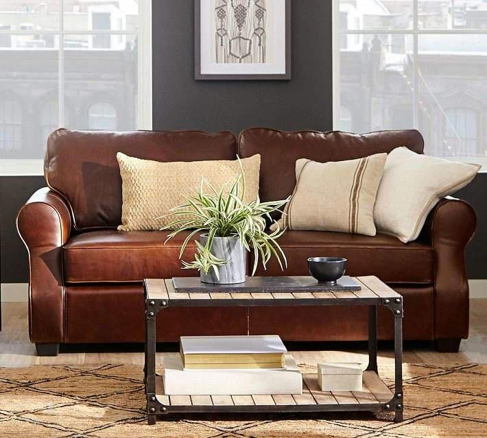 16 Splendid Leather Sofa Covers For 3 Cushion Couch Leather Sofa