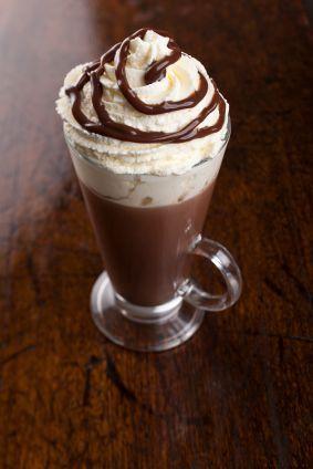 'Adult' Hot Chocolate with Baileys, Kahlua & Amaretto