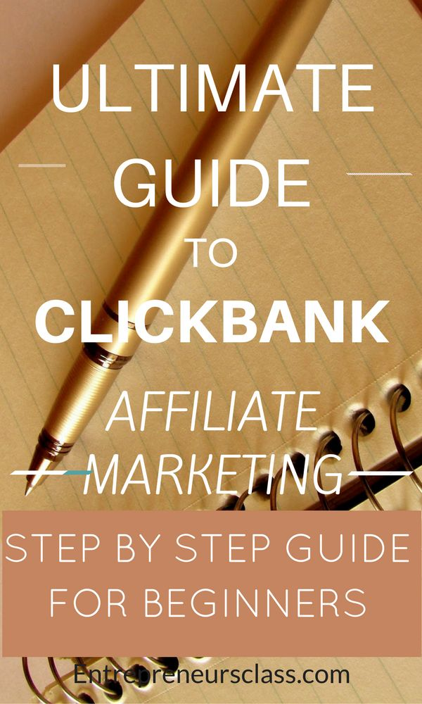Clickbank affiliate marketing-Check out clickbank tutorial. How to make money on clickbank step by step guide for beginners.