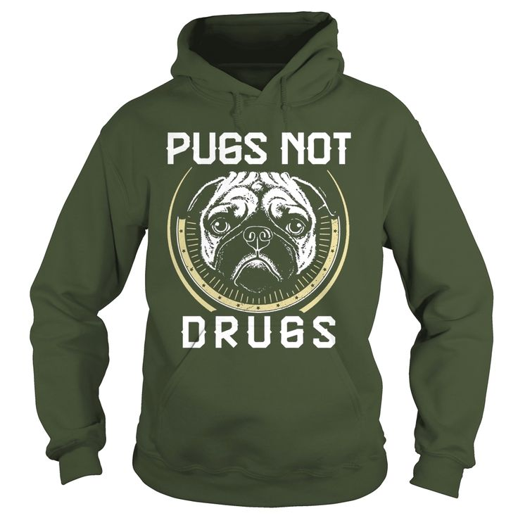 Pugs Not Drugs - Pit Bull Shirt, Order HERE ==> https://www.sunfrog.com/Pets/114925635-455063655.html?51147, Please tag & share with your friends who would love it, #xmasgifts #jeepsafari #birthdaygifts  #rottweiler hembra, #rottweiler funny, rottweiler aleman #rottweiler #family #holidays #events #gift #home #decor #humor #illustrations