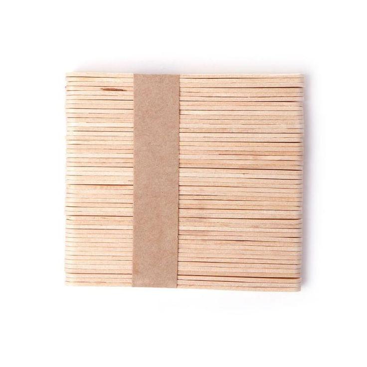 Painless Wax Spatula - 50 units