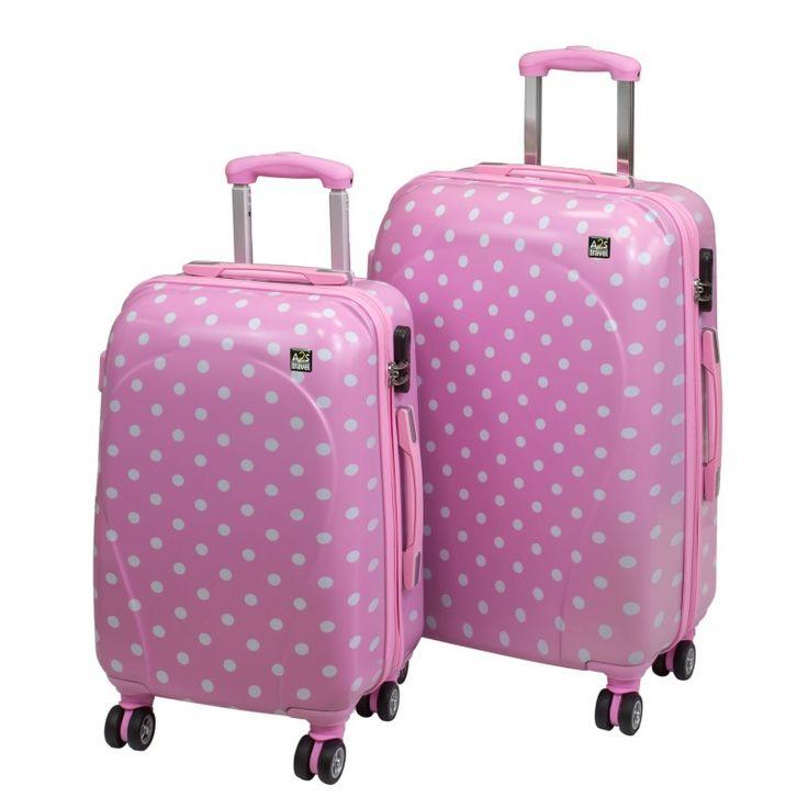 Σετ βαλίτσες ταξιδίου 2 τεμαχίων με σκληρό κάλυμμα, ρόδες 360 μοιρών και ενσωματωμένη κλειδαριά TSA. Στην καλύτερη συνάρτηση ποιότητας και τιμής online.