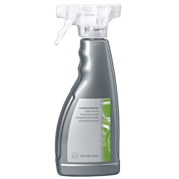 A002986117111  Insect Cleaner 500 ml  This spray is ideal for cleaning all traces of insects on windows, body and chrome. It can also be used on plastic surfaces