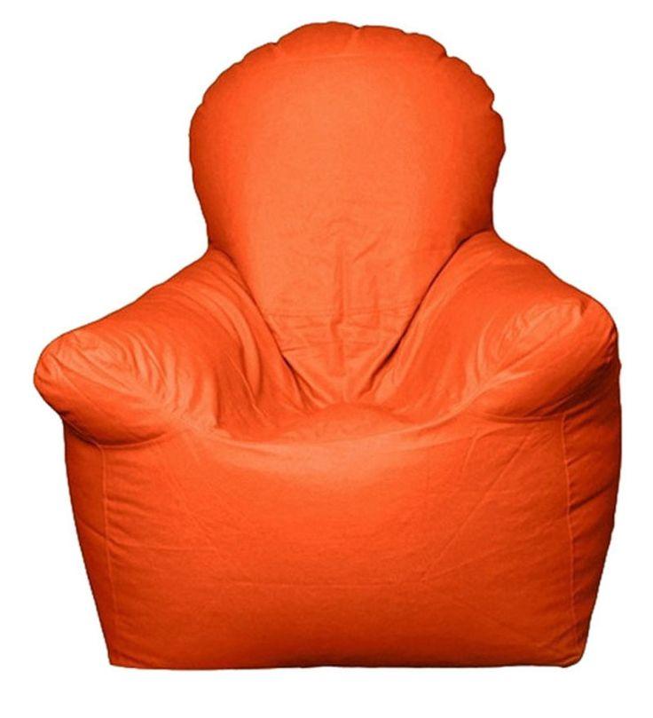 Orange Bean Bag Chair